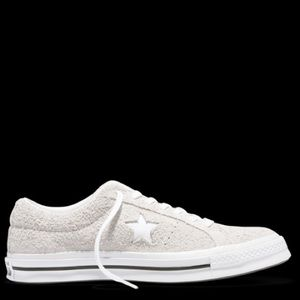 Converse one star 161577 low top suede ox wht 7/9